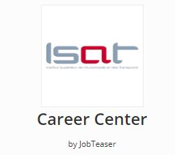 Carreer center Jobteaser - ISAT